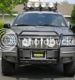 2006 jeep grand cherokee bumper guard [ 1024 x 768 Pixel ]