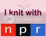 I Knit with NPR