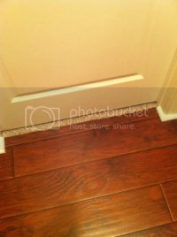 Laminate to carpet transition options - DoItYourself.com ...