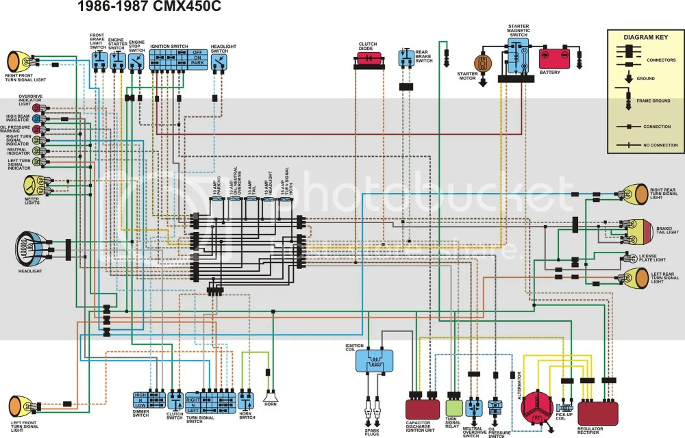 medium resolution of cmx450 wiring diagram wiring diagram todayson a 1986 honda cmx450 wiring diagram wiring diagrams schematic honda