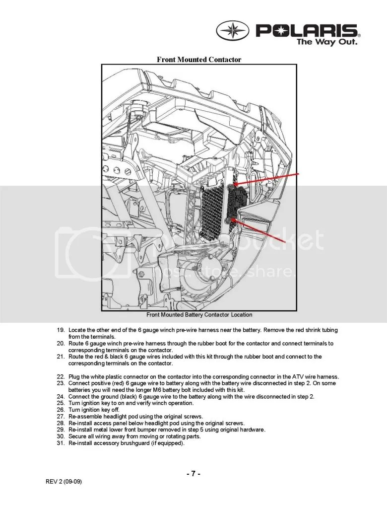 Wiring Diagram For Polaris 4500 Winch