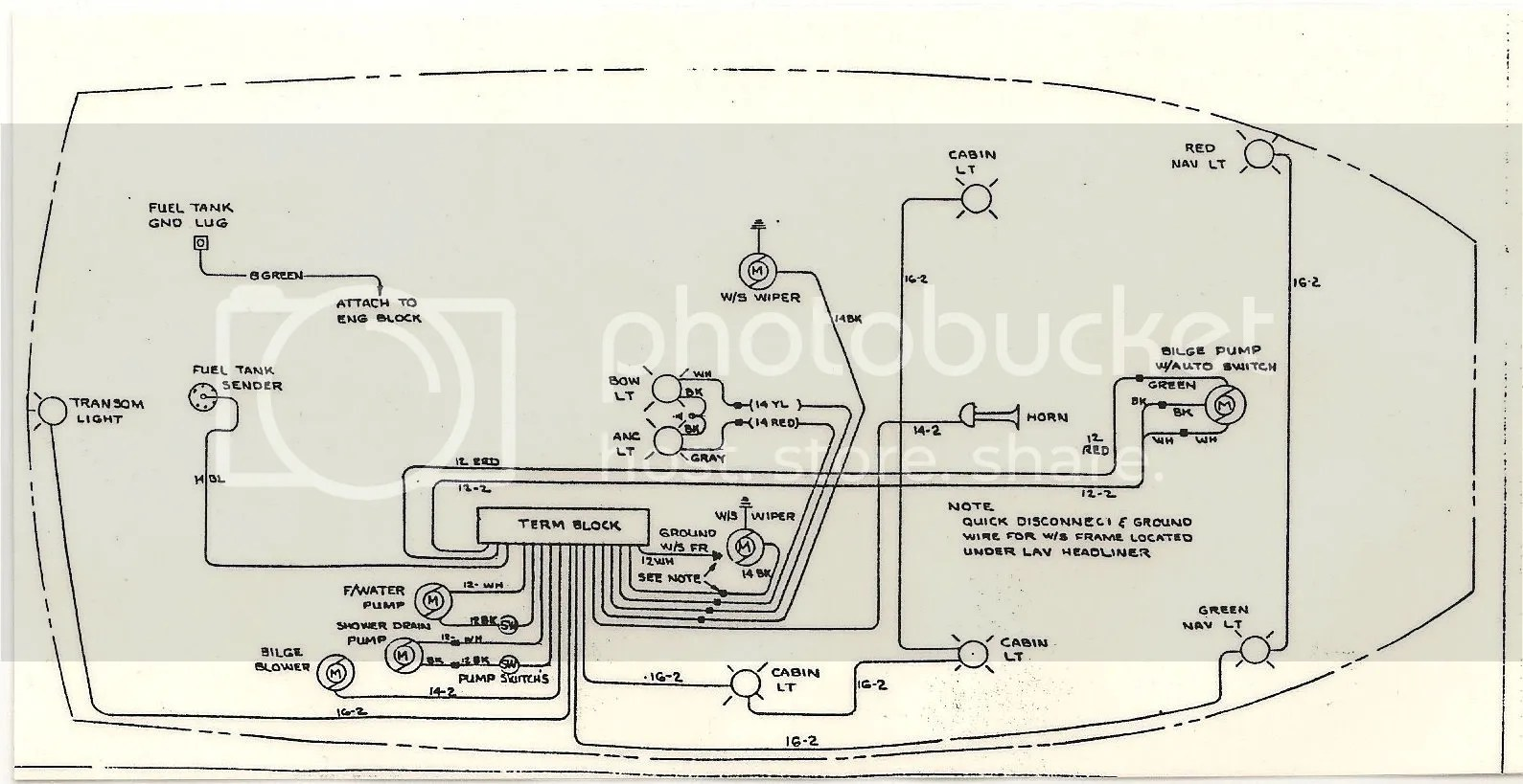 1989 Chri Craft Wiring Diagram