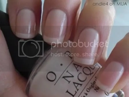 OPI Bubble Bath with Konad m19 and OPI Alpine Snow by andie4