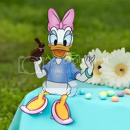 Donald Amp Daisy Duck Easter Candy Box Papercraft