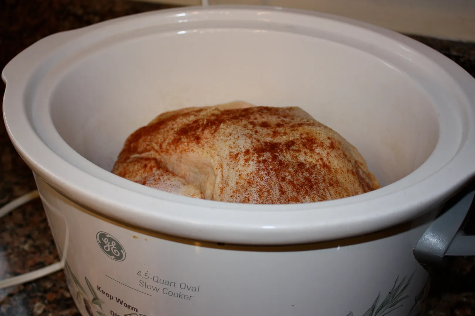Whole Chicken in a Crock Pot