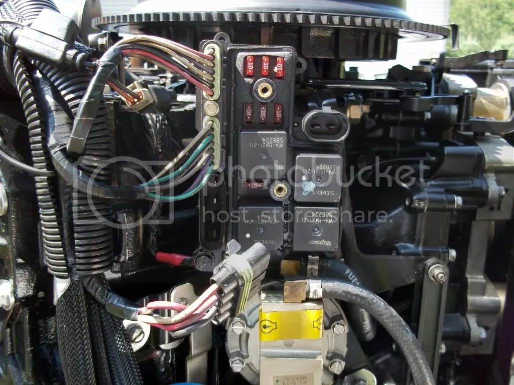 evinrude ficht wiring diagram 2003 chevy avalanche trailer ho ignition immediate then nothing 30