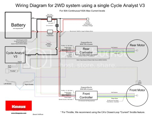 small resolution of wiring diagram for 2wd and a single ca v3 with remote shunt