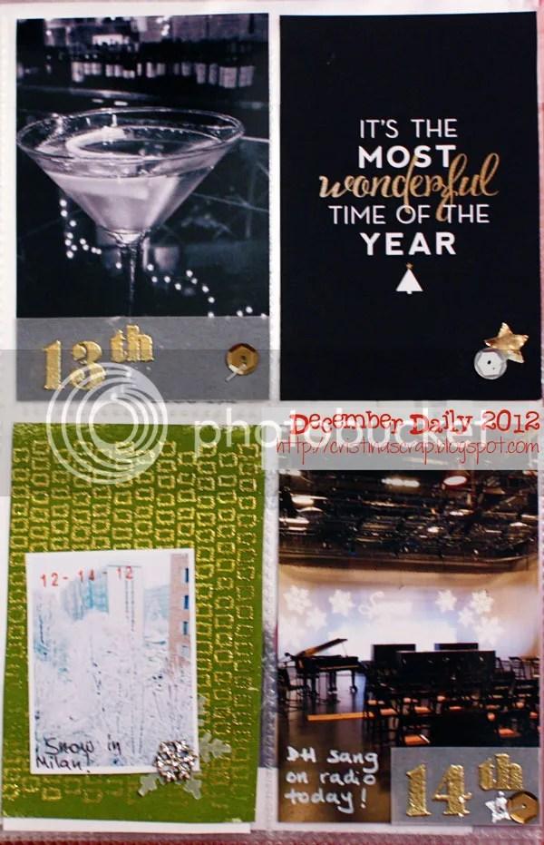 DD 2012 - Days 12-14
