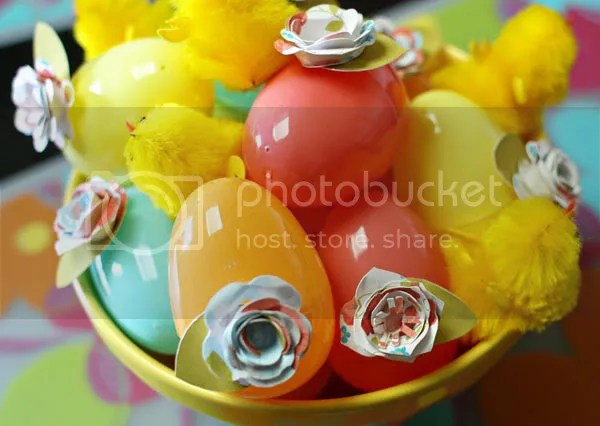 Easter Flower Eggs