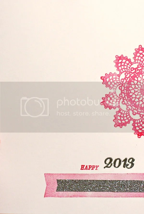 Happy 2013 card