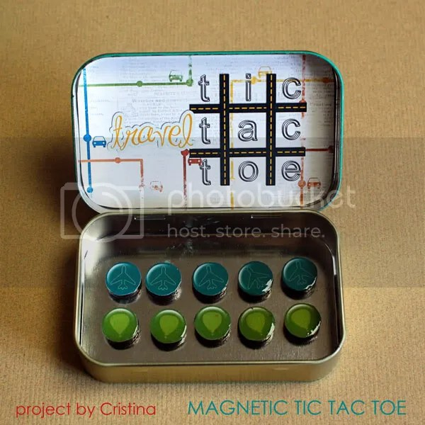 Magnetic Tic Tac Toe