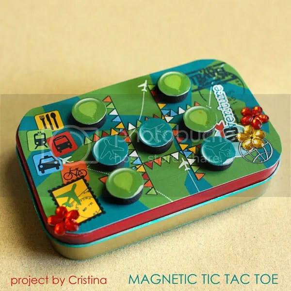 Magnetic Tic Tac Toe