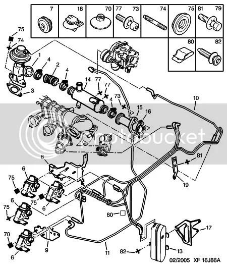 Peugeot Vacuum Diagram