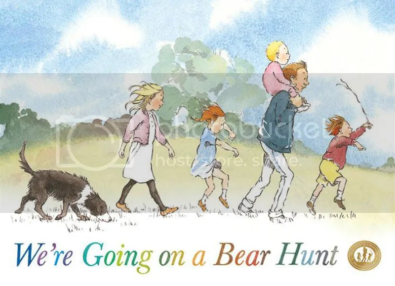 We're going on a bear hunt 800_march books