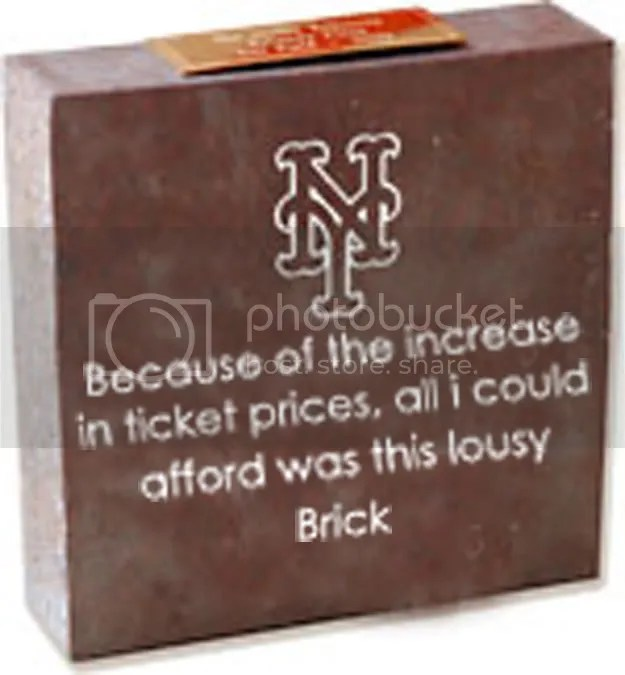 The Only Brick at CitiField One Can Afford