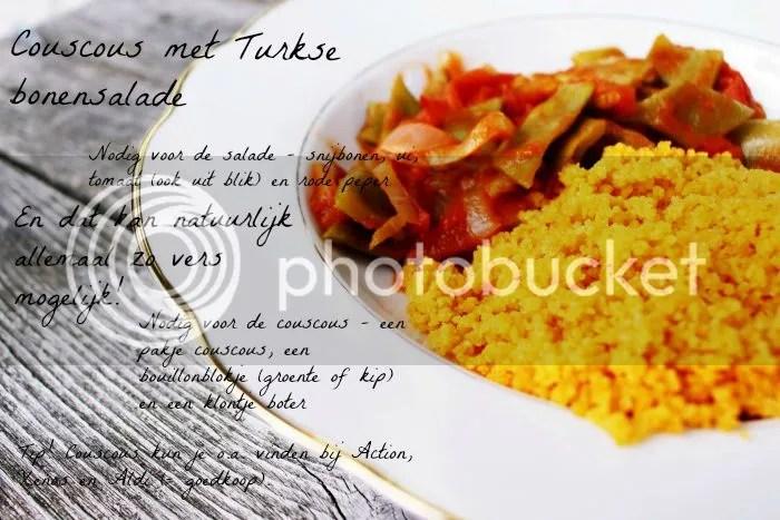 Couscous met snijbonen