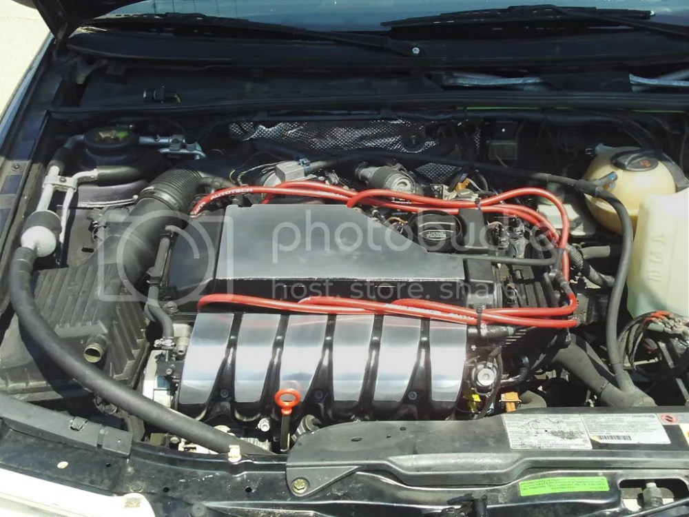 medium resolution of to clean up the over all flow of the engine bay and