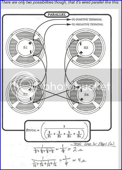 16 ohm speaker wiring diagram