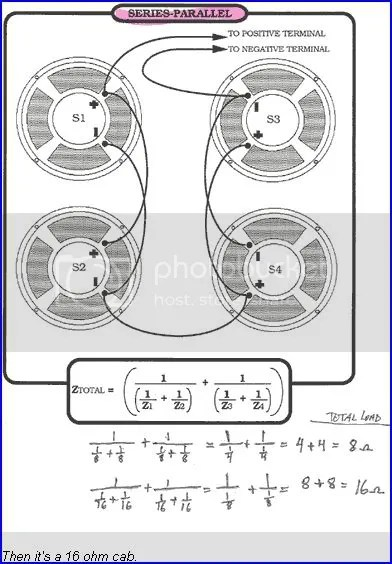 4 2ohm Speaker Wiring Diagram Ohms For A First Gen Kustom 4x12 Cab Ultimate Guitar