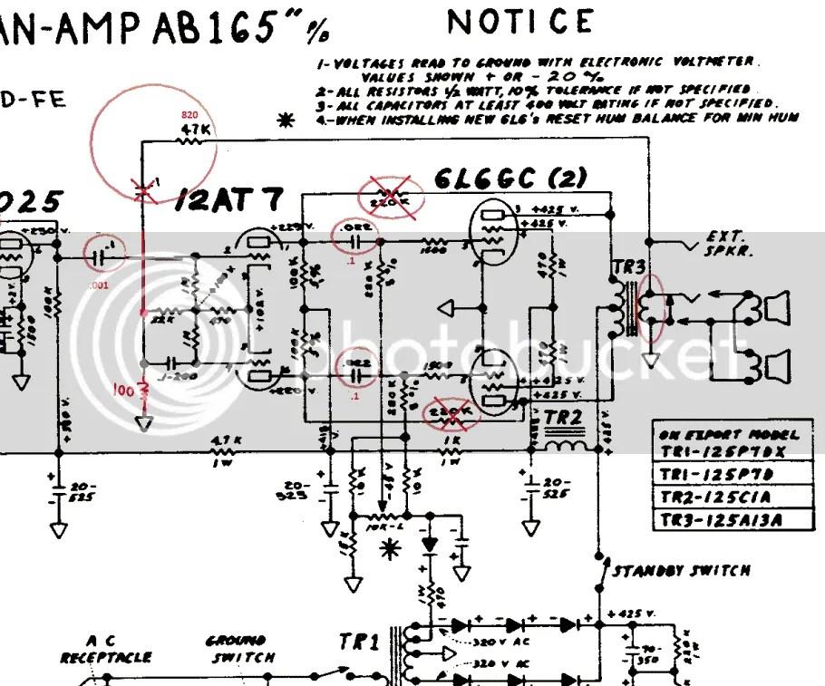 Fender Bassman Wiring Diagram