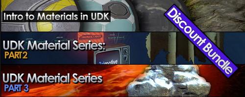 3DMotive - UDK Materials Series Vol.1-3 (2011)