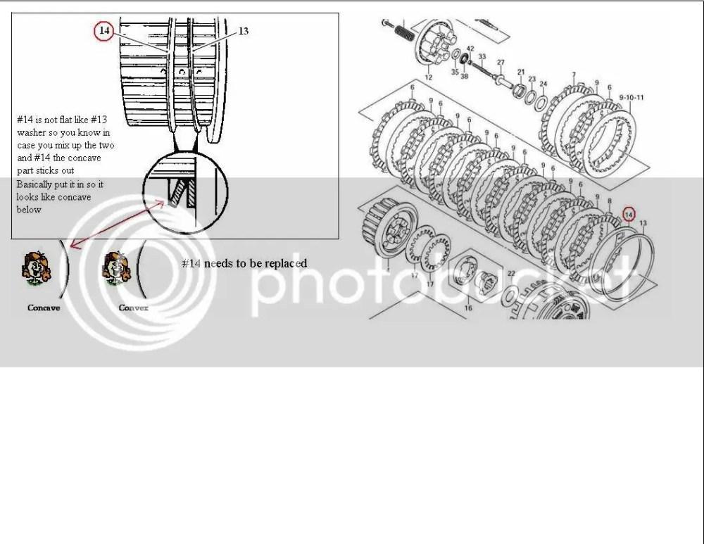 medium resolution of re 05 06 gsxr 1000 clutch mod diy w lots of pics