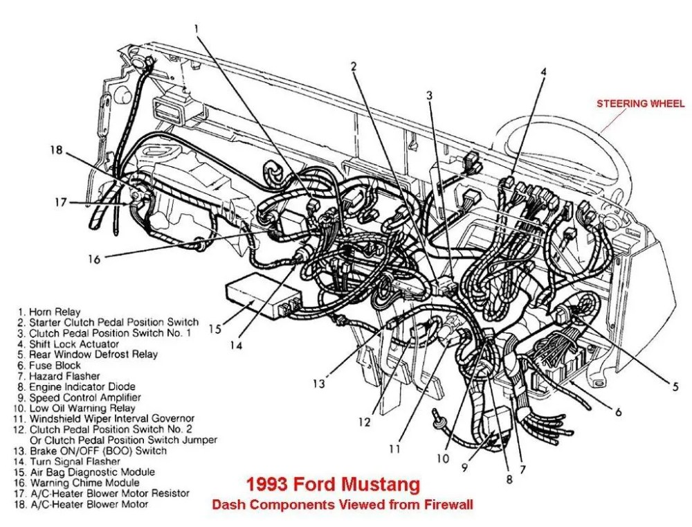 medium resolution of 93 mustang air bag wiring diagram wiring library 1993 ford alternator wiring diagram 93 mustang air bag wiring diagram