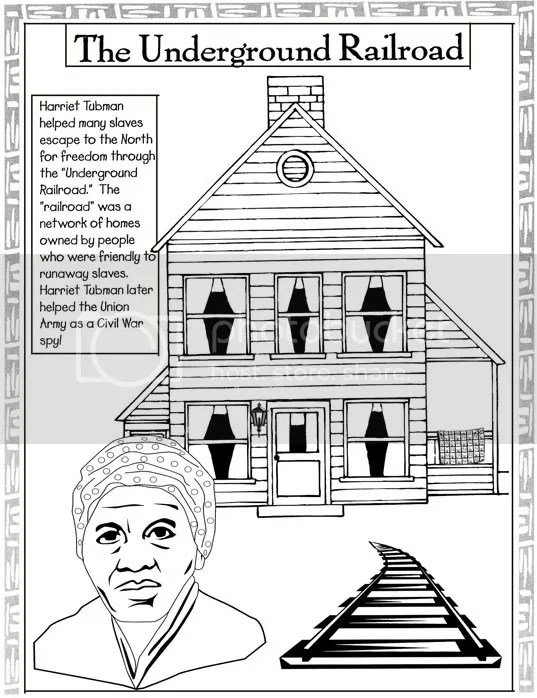 Pseudo-Intellectualism: Black History Coloring Pages
