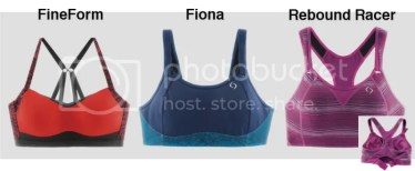 Brooks Moving Comfort Collection bras