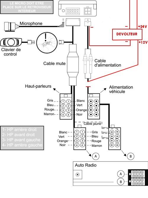 Parrot Ck3100 Installation Wiring Diagram
