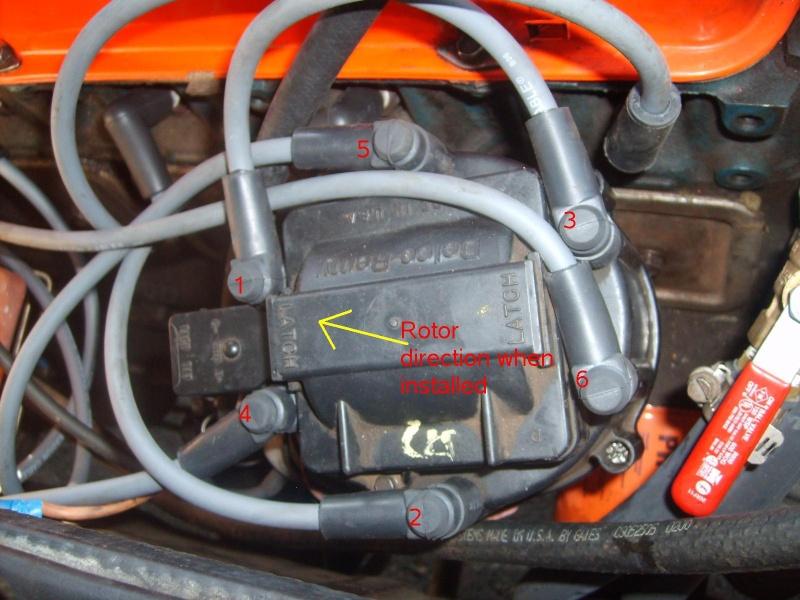 Chevy 350 Firing Order On Chevy Hei Distributor Cap Wiring Diagram