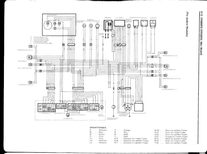 Schema Cablaggio Motore Suzuki