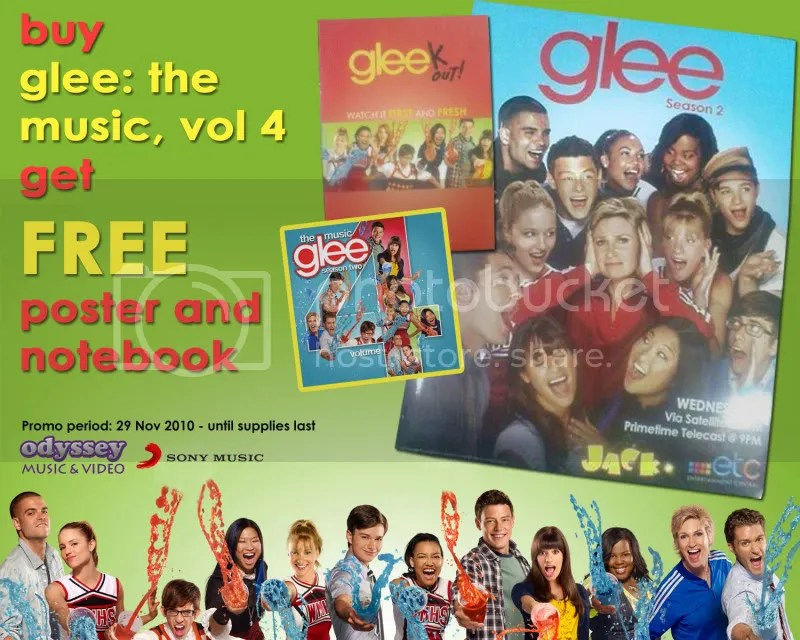 GLEE VOL 4 PROMO AT ODYSSEY