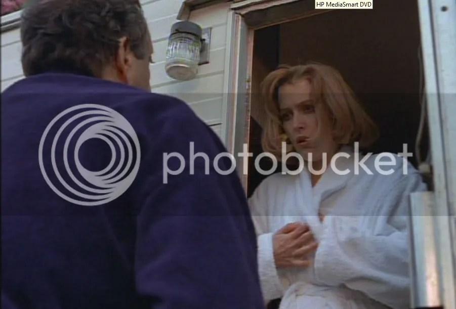 Lanny ha sido uno de los afortunados de la serie en tener a la agente Scully bajo estas circustancias