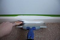How to Paint Floor Trim - Bower Power