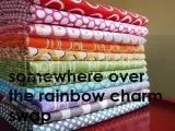 Somewhere Over The Rainbow Charm Swap