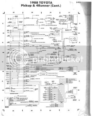 '88 3VZE 5speed wiring diagram help  YotaTech Forums