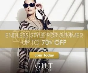 Sign up with Gilt