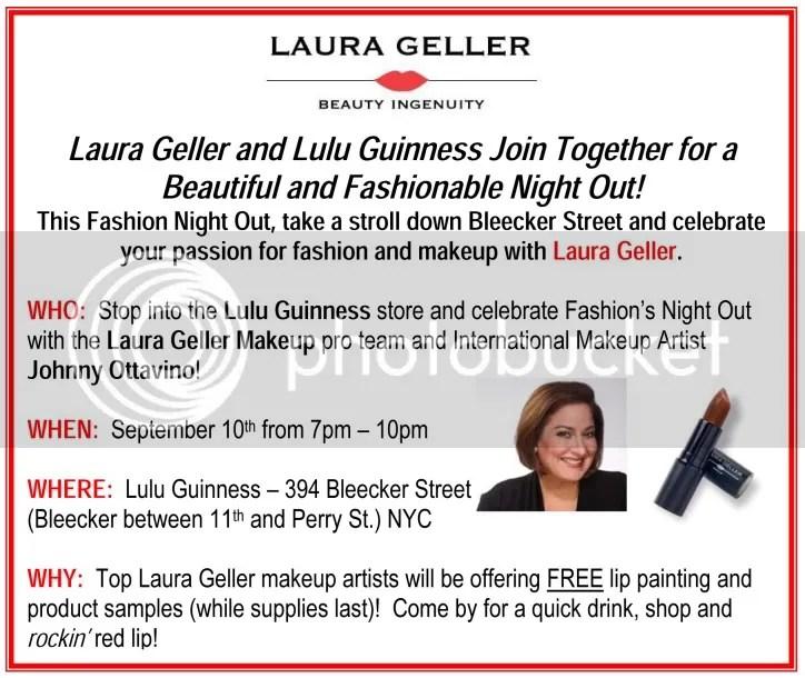 Laura Geller Lulu Guiness