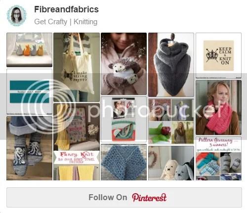 Follow my knitting board on Pinterest @Fibreandfabrics ♥