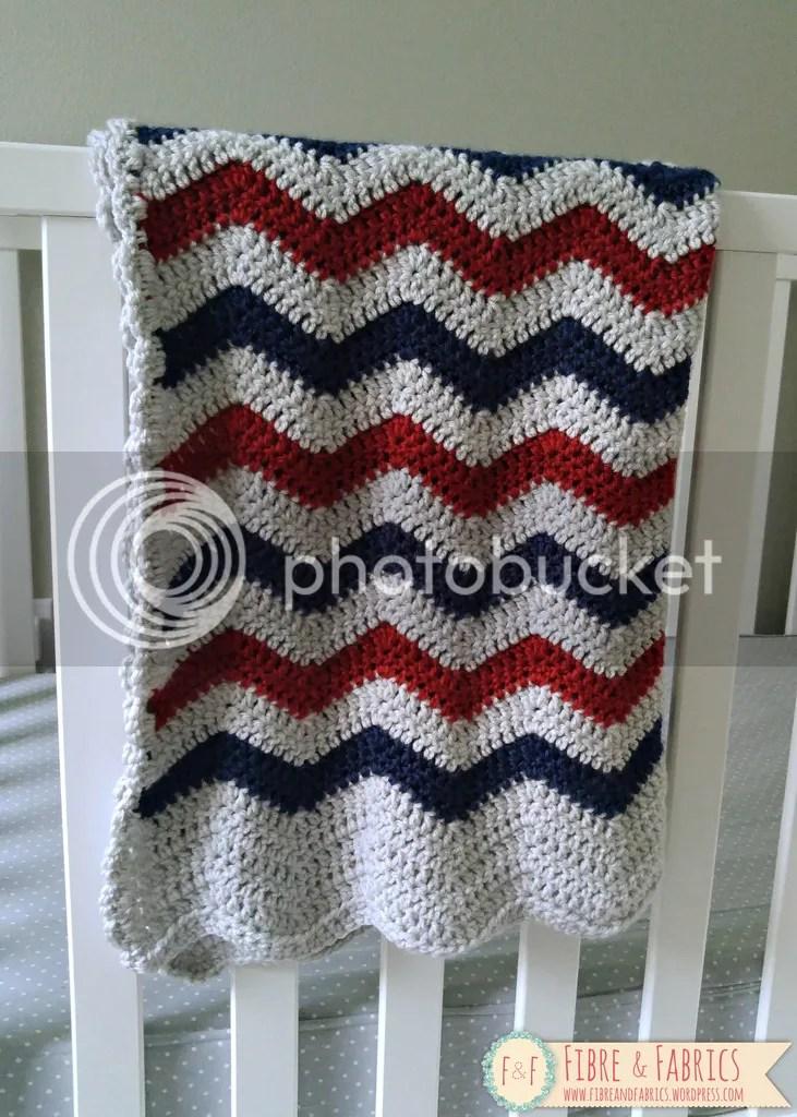 Shop @Fibreandfabrics on #Spreesy - #crochet chevron baby blanket *Made to Order* \ \ \ https://www.spreesy.com/FibreandFabrics/8