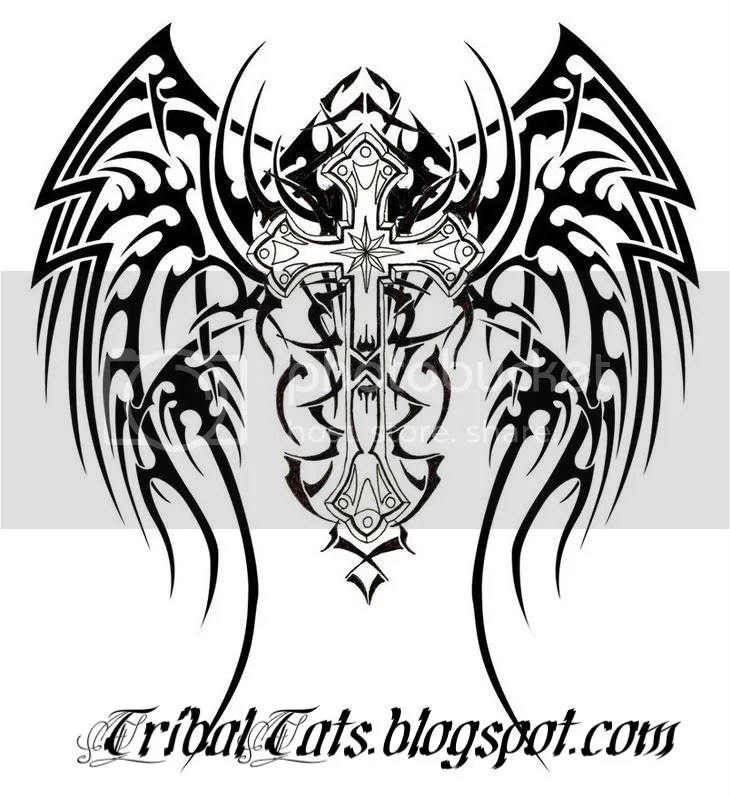Popular Cross Tattoo Designs tattoo 5 Pictures, Images and Photos