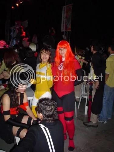 Cosplay Combo Rangers Lisa e Maya