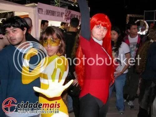 cosplay combo rangers Lisa  e Maya Cooper