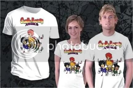 Camiseta Combo Rangers Angels