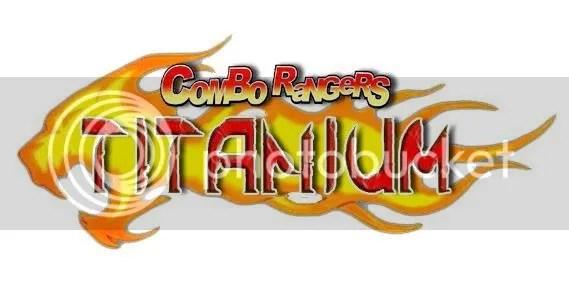 Logomarca Combo Rangers Titanium