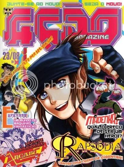 Ação magazine capa