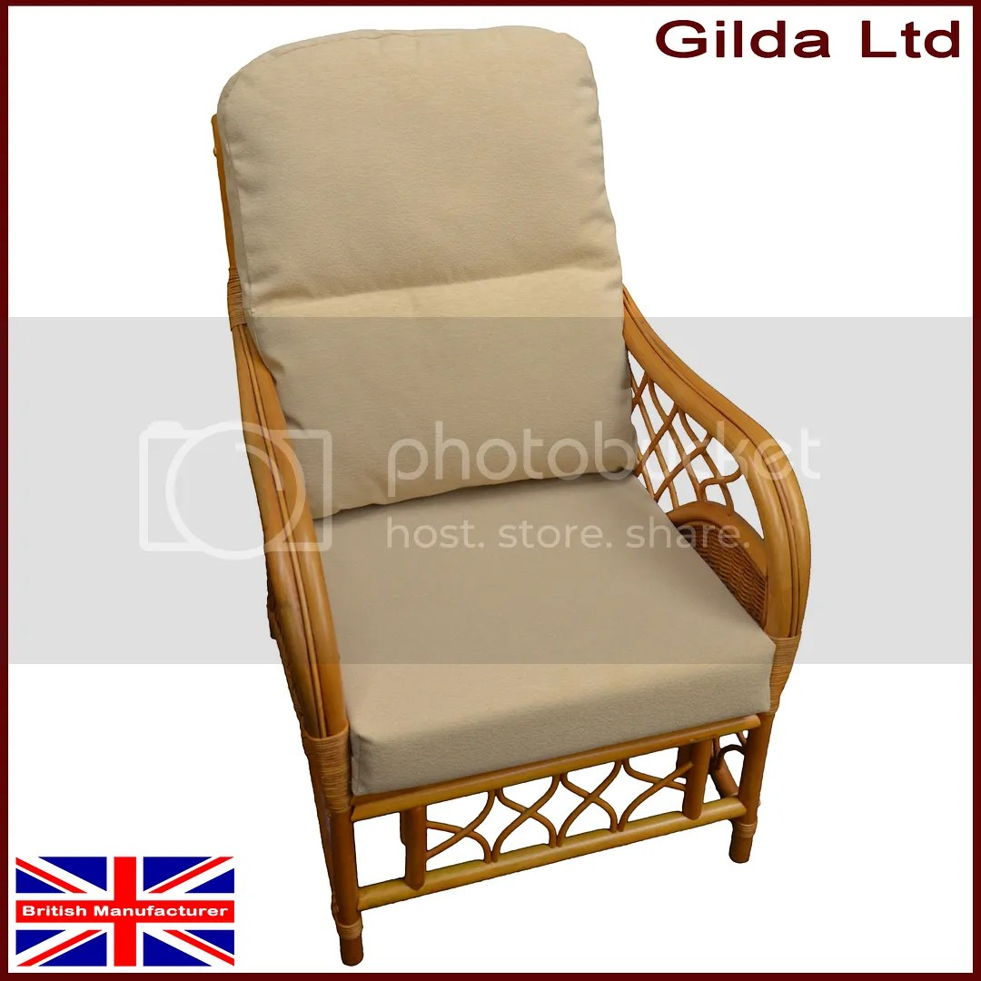 wicker chair seat cushion covers space saver kitchen table and chairs gilda replacement cushions cane furniture