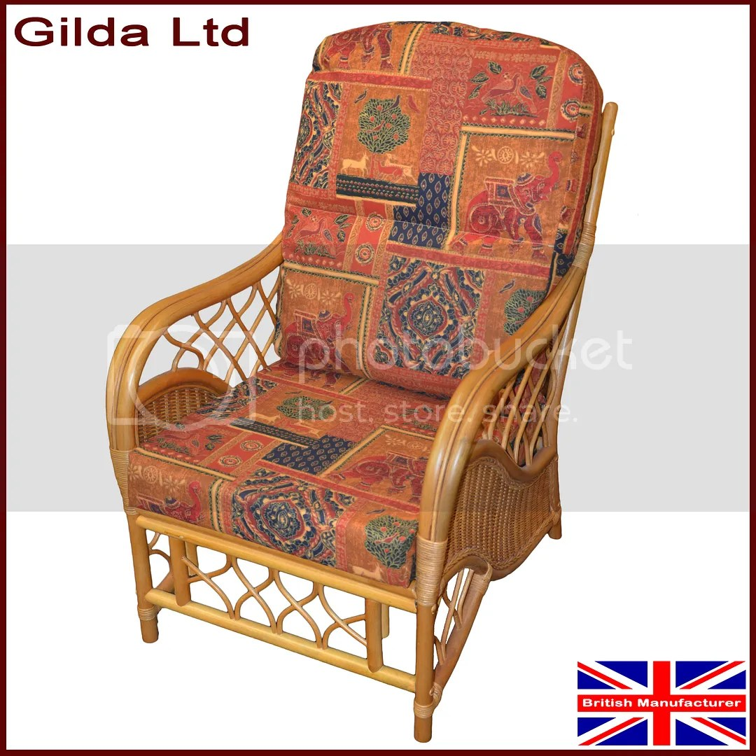 wicker chair seat cushion covers striped gilda replacement cushions cane furniture