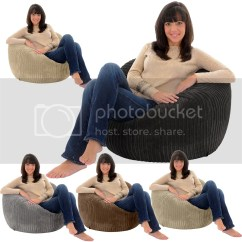Giant Bean Bag Chairs For Adults White Chair Rentals Jumbo Cord Adult Beanbag Big Lounger